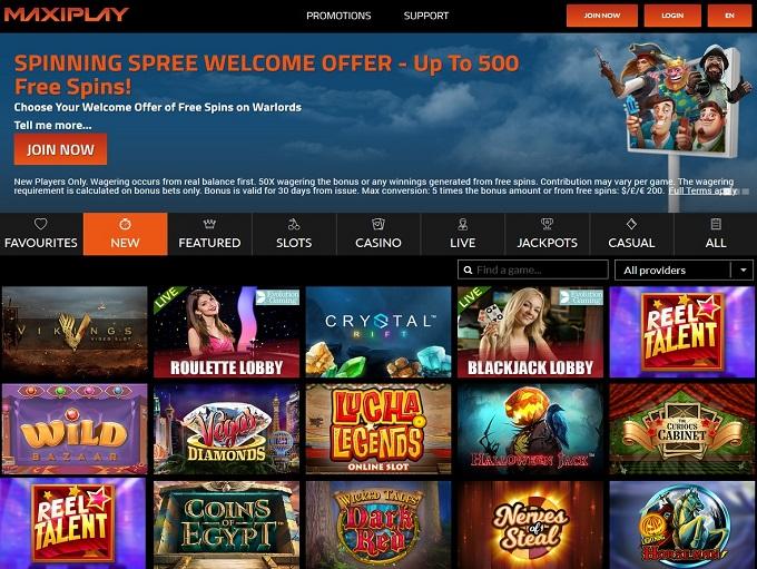 MaxiPlay Casino
